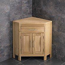 clickbasin Alta Natural Solid Oak Double Door