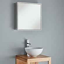 Clickbasin Bathroom Storage Cabinet Square Single