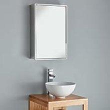 Clickbasin Bathroom Wall Cabinet Single Door Tall