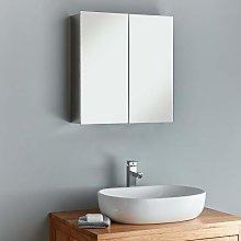 Clickbasin Double Door Mirror Bathroom Wall