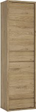 Clifford 2 Door 2 Drawer Display Cabinet - Oak