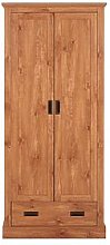Clifton 2 Door, 1 Drawer Wardrobe
