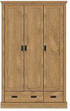 Clifton 3 Door, 2 Drawer Wardrobe