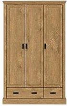 Clifton 3 Door, 2 Drawer Wardrobe