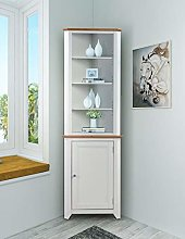 Clifton Oak Off White Painted Small Corner Storage