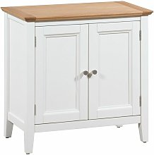 Clifton Oak Off White Painted Small Storage