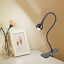 Clip On LED Desk Light Gooseneck LED Table Lamp