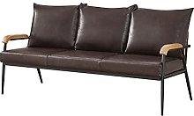 CLIPOP 3-Seater Sofa Chair Retro Modern Leisure