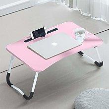 CLIPOP Adjustable Laptop Bed Table,Portable Lap
