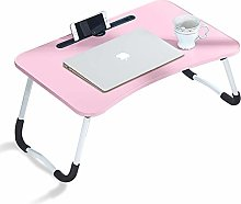 CLIPOP Adjustable Laptop Bed Table,Portable Lap