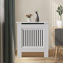 CLIPOP Radiator Cover White Modern Painted