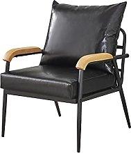 CLIPOP Retro Modern Single Sofa Lounge Armchair