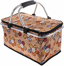 CLISPEED Collapsible Insulated Picnic Basket