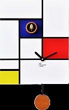 Clock AROUND MONDRIAN 140 PIRONDINI