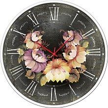 Clock CURVA DI FIORI GTO6586 PINTDECOR