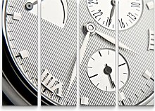Clock Face with Roman Numerals Photographic Print