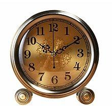 Clock Fireplace Copper Bench Desktop Mute Watch