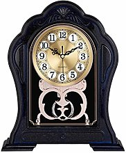 Clock for Desk Imitation Solid Wood Big Digital
