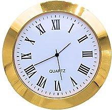 Clock Insert 33mm Gold Bezel fits 30mm Hole, Roman