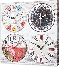 Clock IS TIME OF PROVENCE G2434 PINTDECOR
