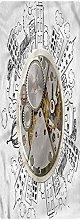 Clock Kitchen Mat, 2'x3', Alarm Clock with