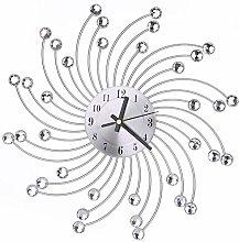 Clock Modern, Wall Clock Iron Wall Clocks with