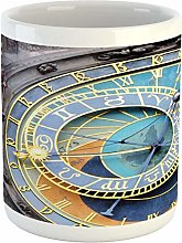 Clock Mug Prague Astronomical Clock in The Old