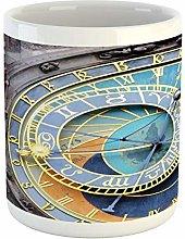 Clock Mug, Prague Astronomical Clock in The Old