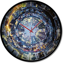 Clock PERSPECTIVE OF THE TIME GTO6598 PINTDECOR