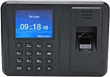 Clock Time Card Machine Fingerprint Attendance