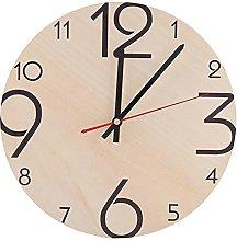 Clock, Wall Clock, Wooden Desk Clock Modern Wall