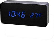 Clode® Alarm Clock, 15cm x 4cm x 7cm LED Sound