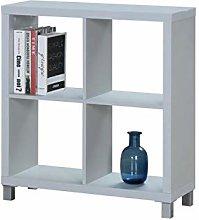 Closet North Kubox 2x2 Shelf, Grey, 83x76x29