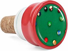 Closeup Shot Billiard Balls On Green Desk Wine