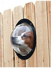 Closing window for dog dog - Durable acrylic dome