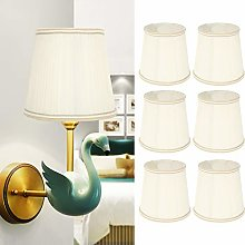 Cloth Chandelier Pendant Lampshade, 6Pcs Household