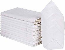 Cloth dinner Napkins-100% Cotton-18x18 Inch (45x45