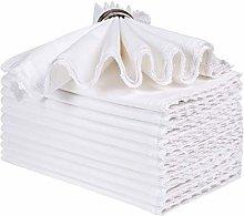 Cloth Dinner Napkins-100% Cotton-20x20 Inch (50x50