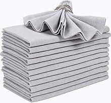 Cloth Dinner Napkins 12 Pack -18x18 Inch (45x45