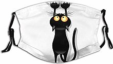 Cloth Face Mask Washable Cat Scratching Curtain