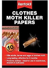 Clothes Moth Killer Papers - Pack of 30