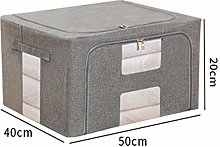Clothes Storage Boxes With Lids, Bag Organizer