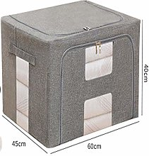 Clothes Storage Boxes With Lids, Large Capacity