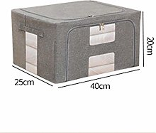 Clothes Storage Boxes With Lids, Organizer With