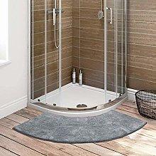 ClothHouse Curved Bathroom Rug for Circular
