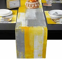 Cloud Dream Home Table Runner Sets with 6
