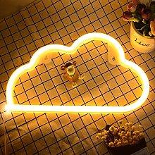 Cloud Neon Signs Lights, Neon Lights for Bedroom,