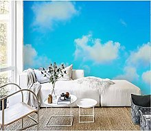 Cloud TV Background Wall Paper Bedroom Sofa Wall