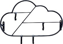 Cloud Wall Mounted Coat Rack Art for kids