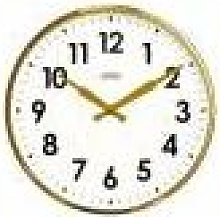 Cloudnola - Factory Numbers Clock - Gold
